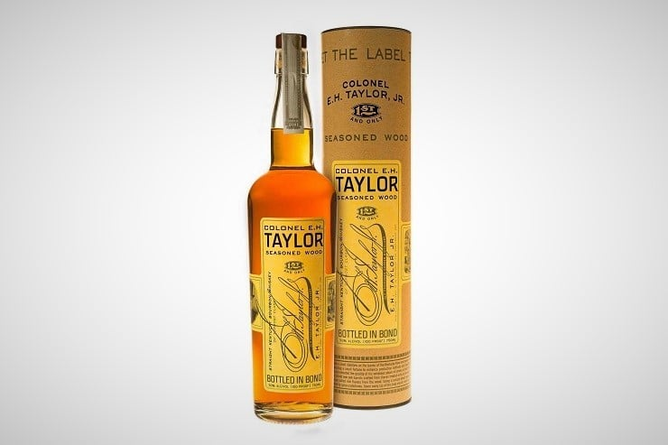 Colonel E.H. Taylor, Jr. Seasoned Wood Bourbon