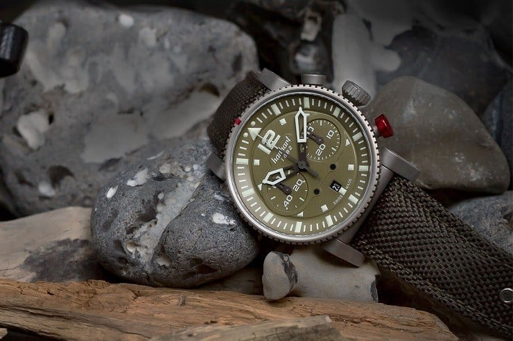 Hanhart Primus Survivor Pilot Watch 2