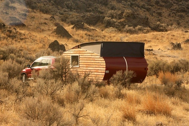 Homegrown Trailers Teardrop Camper 10