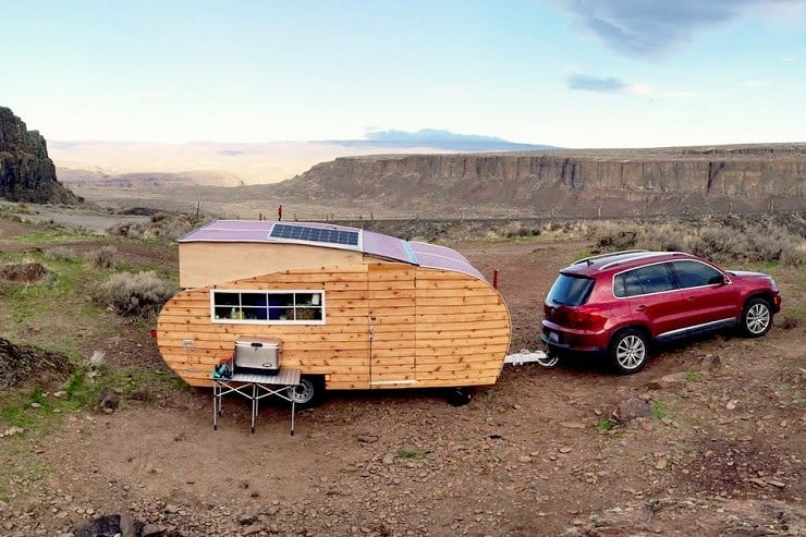 Homegrown Trailers Teardrop Camper 11