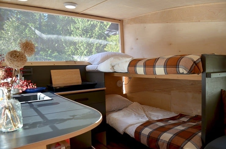 Homegrown Trailers Teardrop Camper 12