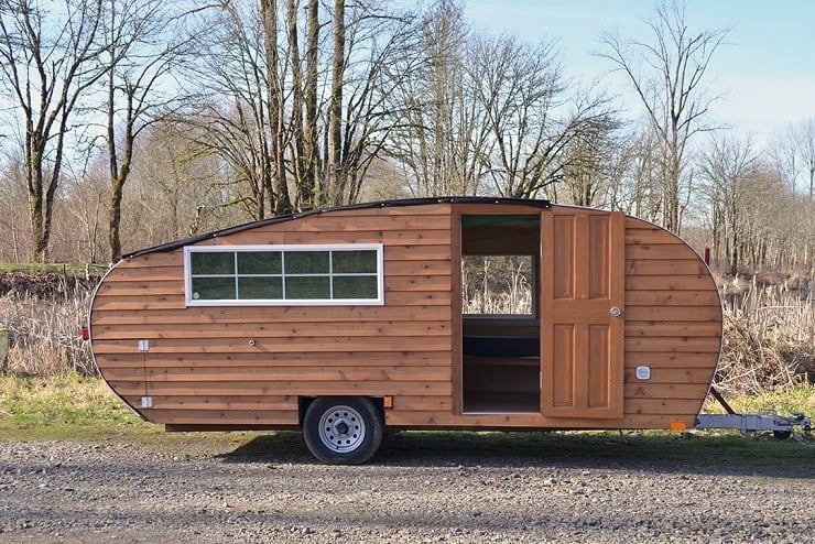 Homegrown Trailers Teardrop Camper 2