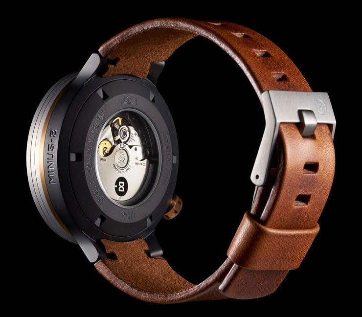 Minus-8 Layer Leather Watch 3