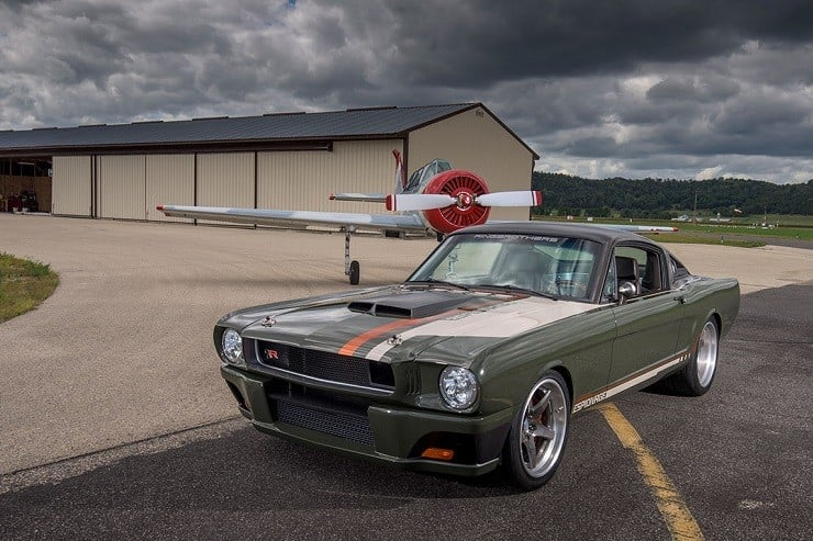 Ringbrothers 1965 Fastback Mustang Espionage 20