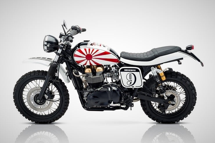 'Ronin' Triumph Scrambler by Tamarit Motorcycles 10