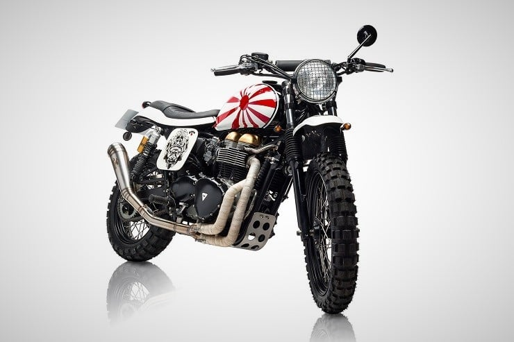 'Ronin' Triumph Scrambler by Tamarit Motorcycles 13