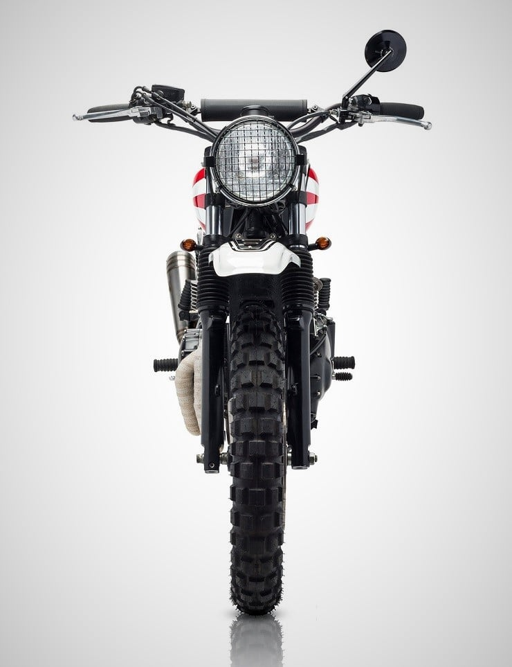 'Ronin' Triumph Scrambler by Tamarit Motorcycles 7