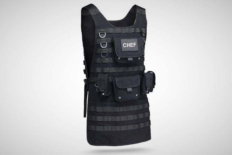 Tactical Chef Apron 2