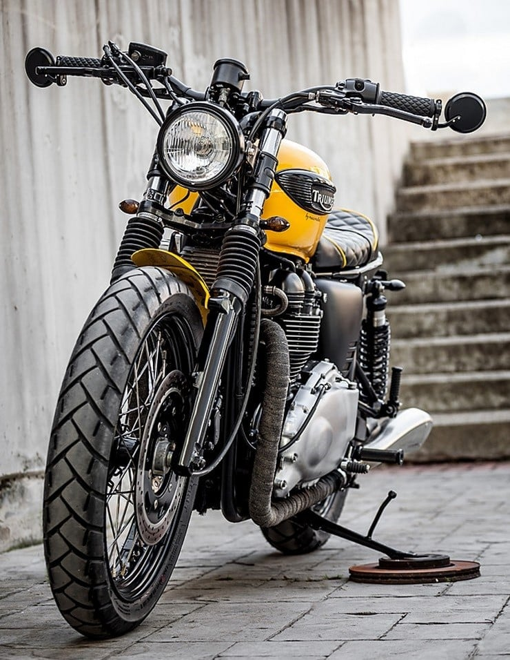 'The Wasp' Triumph Bonneville by Macco Motors 11