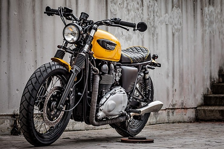 'The Wasp' Triumph Bonneville by Macco Motors 4