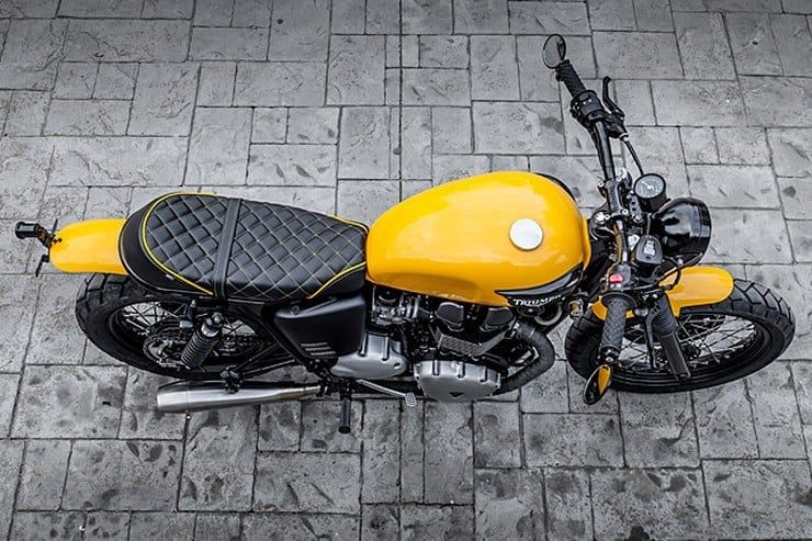 'The Wasp' Triumph Bonneville by Macco Motors 6