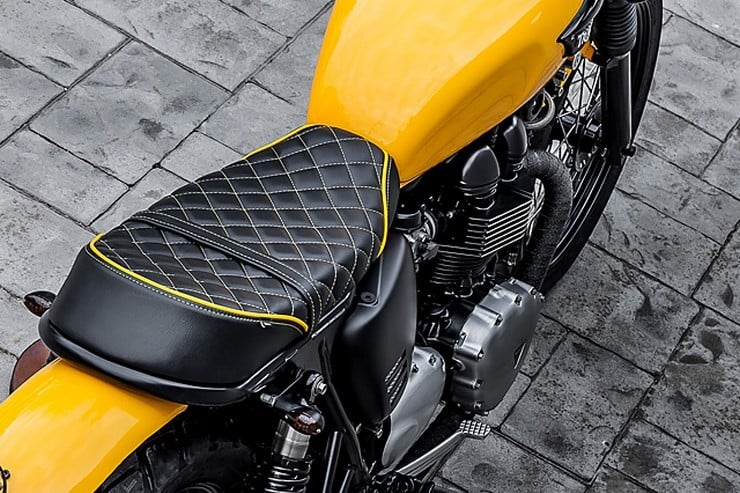 'The Wasp' Triumph Bonneville by Macco Motors 8