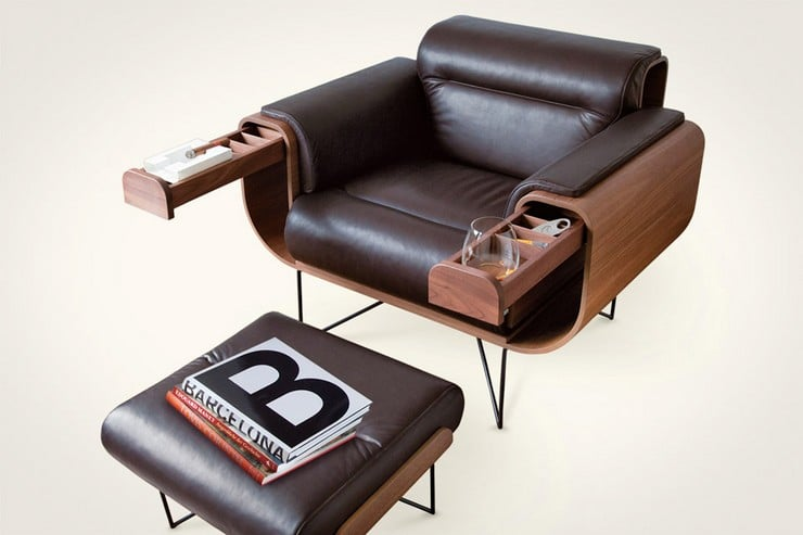 El Purista Smokers Armchair 5