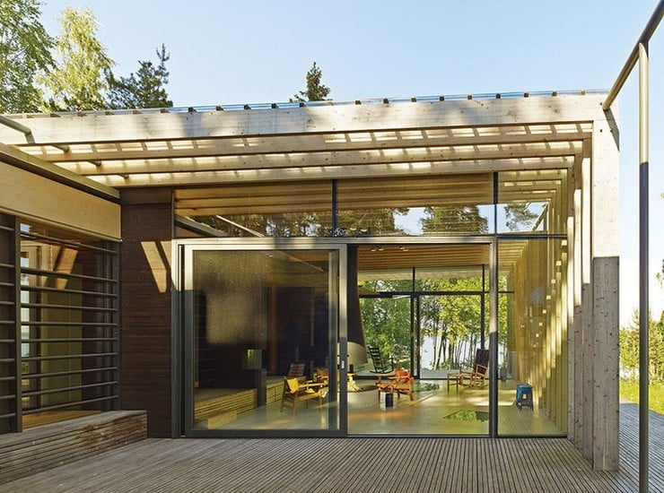 Forest Sauna House in Sweden 1