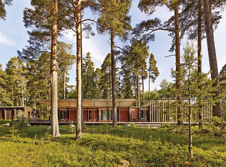 Forest Sauna House in Sweden 4