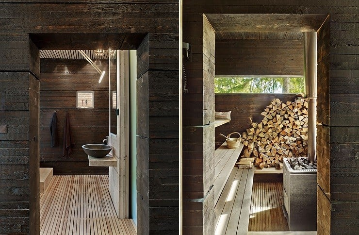 Forest Sauna House in Sweden 5
