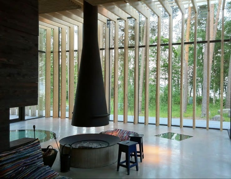 Forest Sauna House in Sweden 6