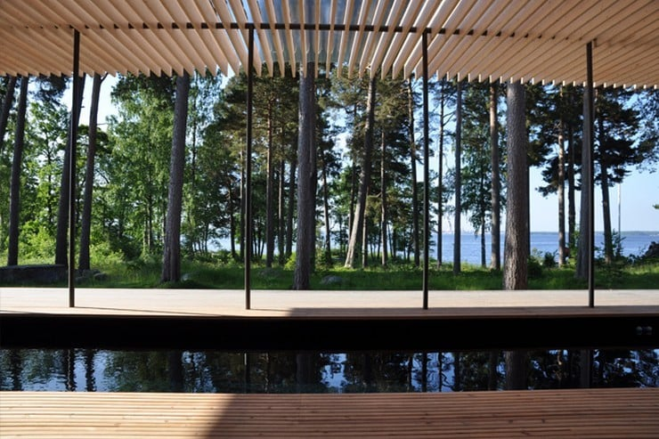 Forest Sauna House in Sweden 7