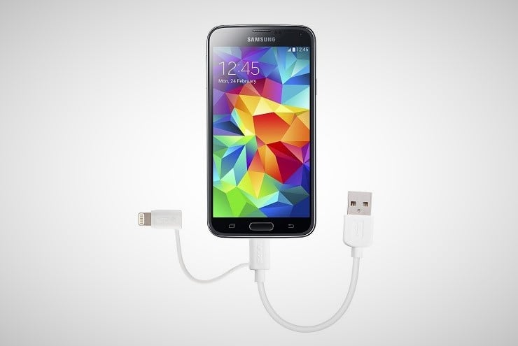 Skiva Lightning + Micro USB 2-in-1 Cable