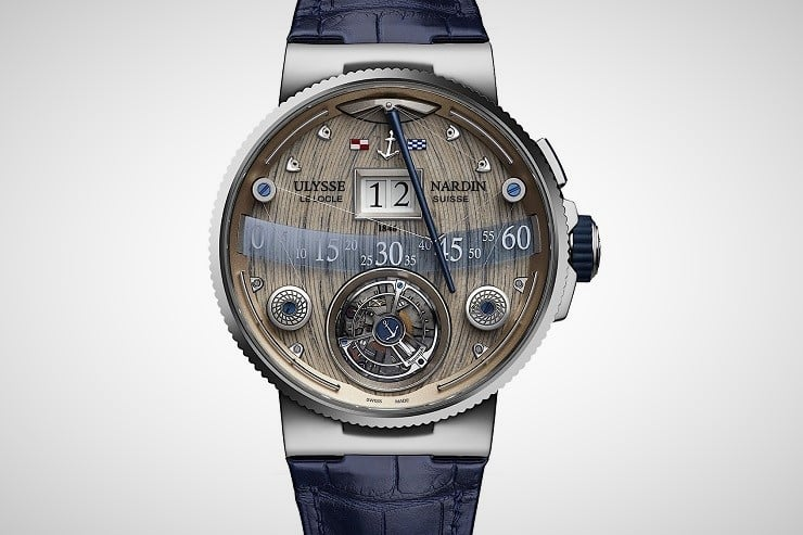 Ulysse Nardin Grand Deck Marine Tourbillion