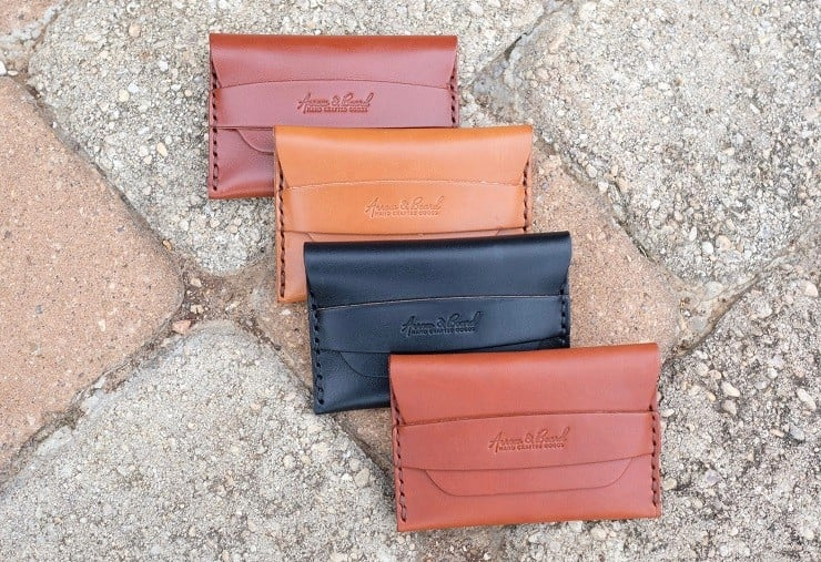 Arrow & Board Leather Wallets 5