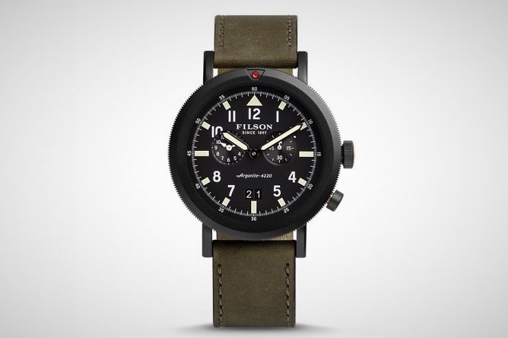 Filson Scout Dual Time Watch 2