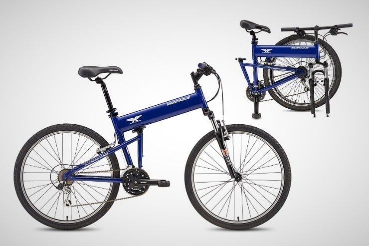 Montague Paratrooper Folding Mountain Bikes 3