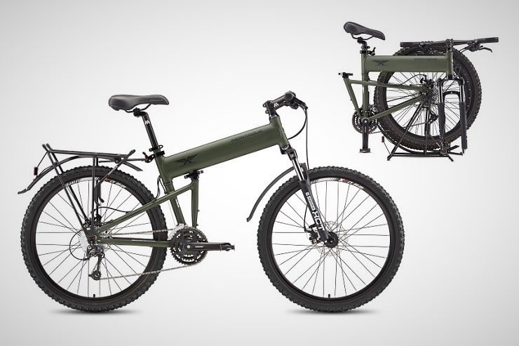 Montague Paratrooper Folding Mountain Bikes 5