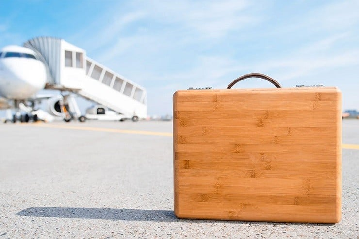 The Companion Bamboo Briefcase