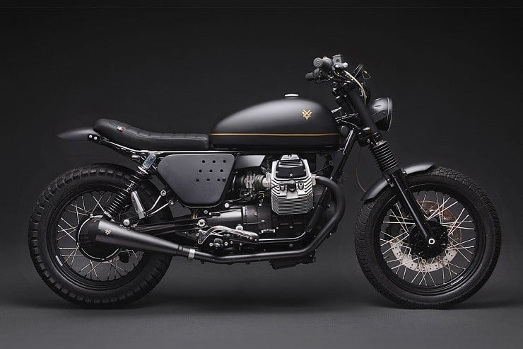 'Tractor 04' Moto Guzzi V7 by Venier Customs