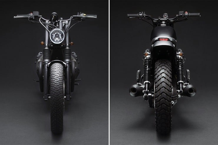'Tractor 04' Moto Guzzi V7 by Venier Customs 7