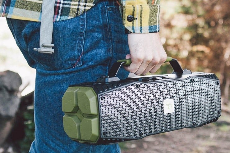 All-Weather Bluetooth Speaker + Jump Starter