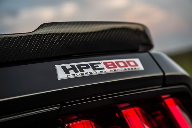 Hennessy 25th Anniversary HPE800 Ford Mustang 10