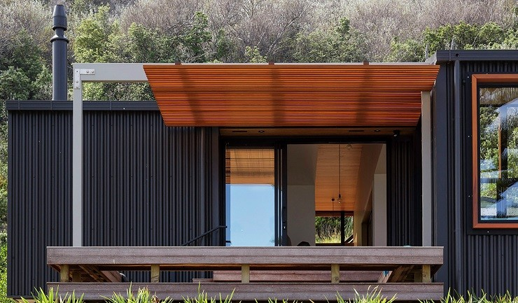 offSET Shed House in New Zealand 10