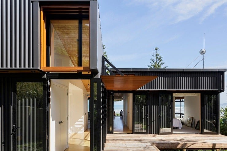 offSET Shed House in New Zealand 3