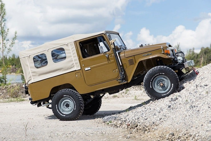 1981 Toyota Land Cruiser FJ43 by Copperstate Overland 8