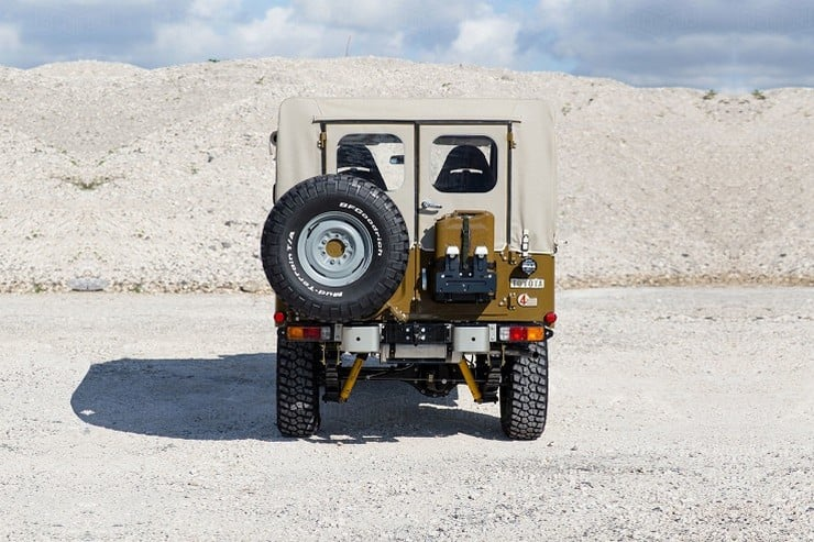 1981 Toyota Land Cruiser FJ43 by Copperstate Overland 9