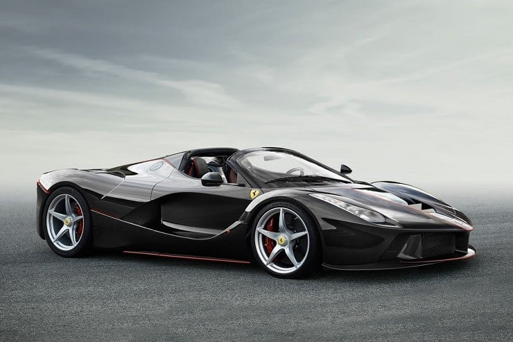 Convertible LaFerrari 3