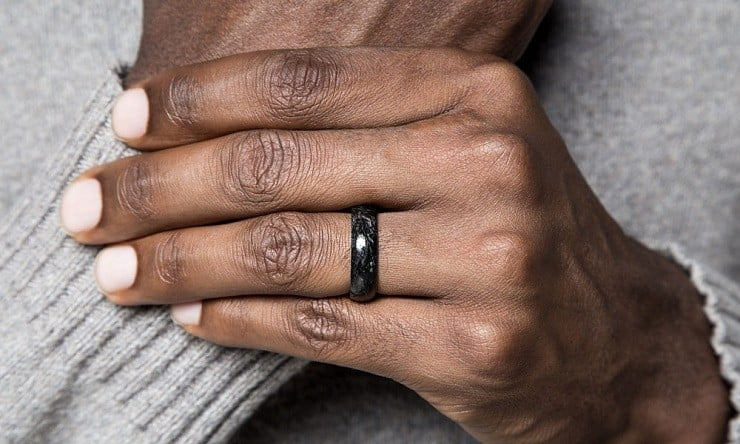 wedding men s black item bands stainless tire ring carbon finger design rings steel gold rose ip forged color fiber mens jewelry