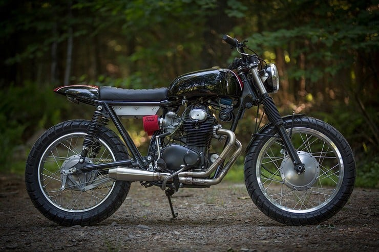 Honda CB350 Scrambler by Catskill Mountain Customs Inc. 1