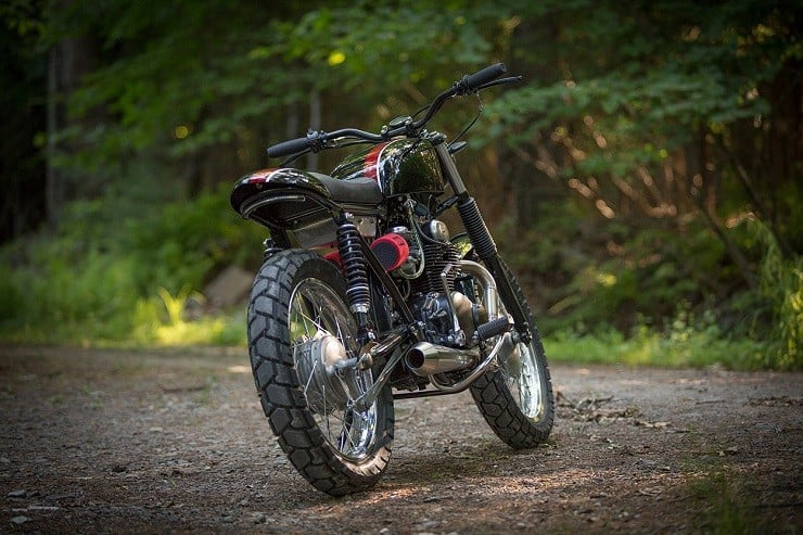 Honda CB350 Scrambler by Catskill Mountain Customs Inc. 3