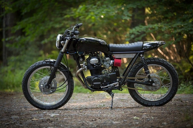 Honda CB350 Scrambler by Catskill Mountain Customs Inc. 4