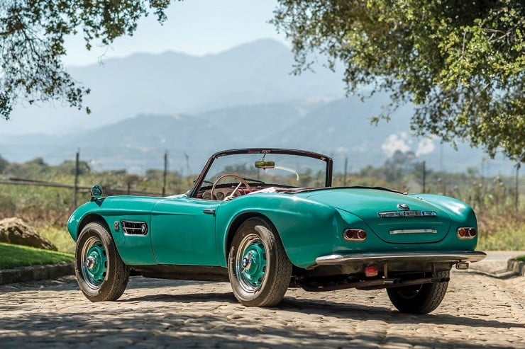 1957 BMW 507 Roadster Series I 14
