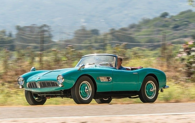 1957 BMW 507 Roadster Series I 4