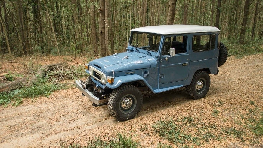 CoolnVintage 1979 Toyota Land Cruiser 12