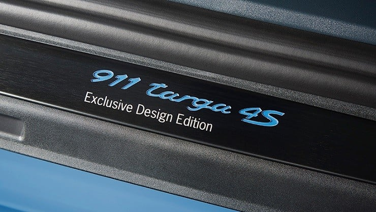 Porsche 911 Targa 4S Exclusive Design Edition 6