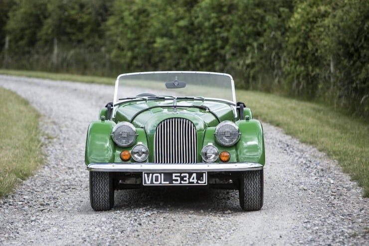 1970 Morgan Plus 8 Sports Roadster 9
