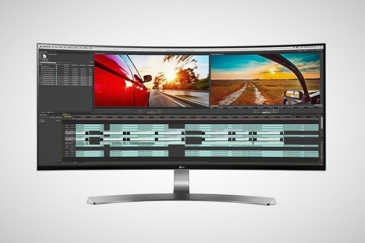 LG Thunderbolt Curved LED Monitor