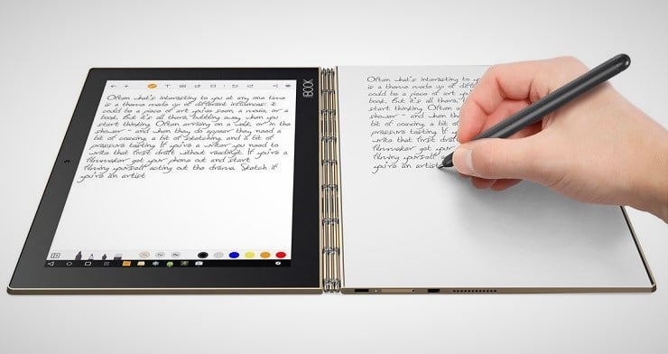 Lenovo Yoga Book 2-in-1 Tablet 9