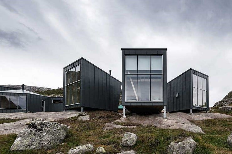 Skåpet Mountain Lodges in Norway